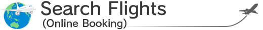 Search flights (Online Booking)